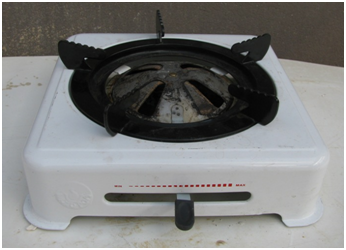 MOTOPOA STOVE - SINGLE WHITE Image
