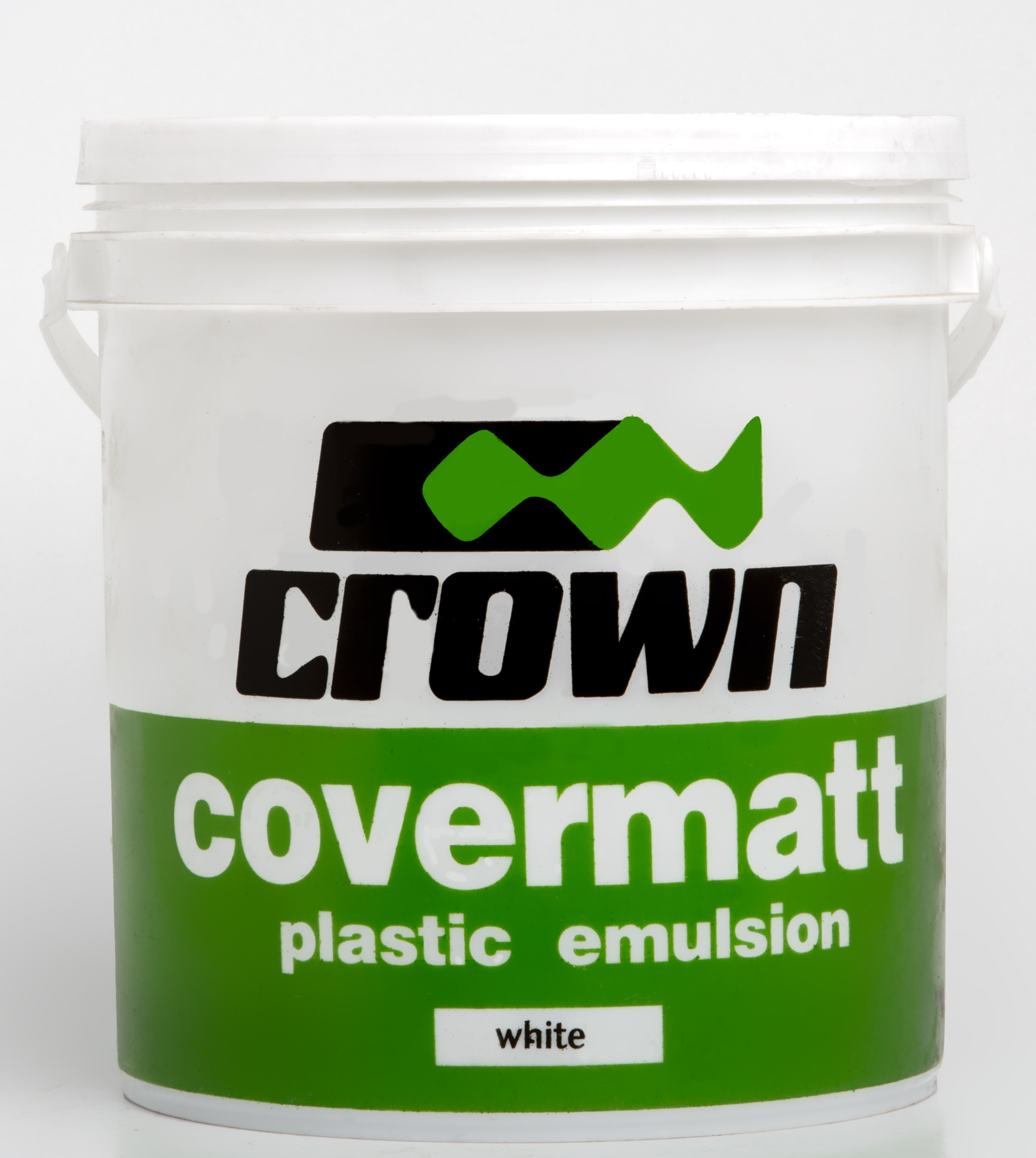 PERMAPLAST PAINT - CROWN - BRILLIANT SOFT WHITE - 20LTRS Image